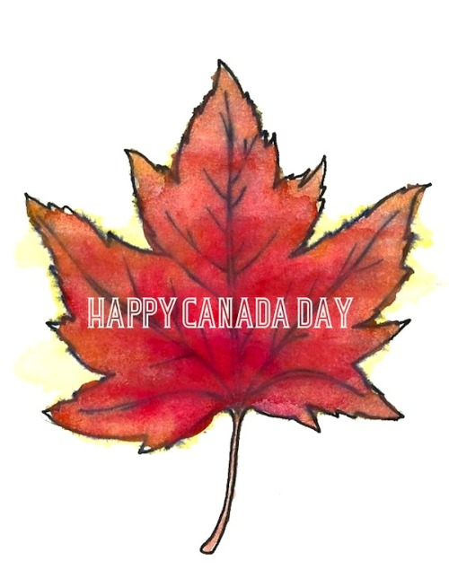Art by Justine Taylor Happy Canada Day!