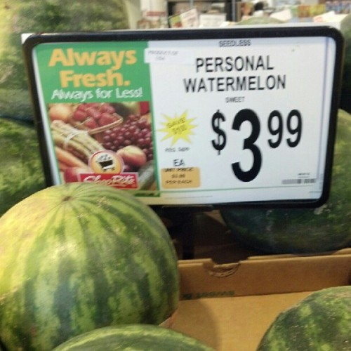 #Shoprite #groceries #shopping #produce #watermelon (Taken with Instagram)
