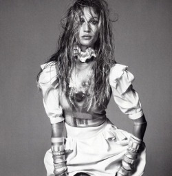 Gisele Bundchen, By Steven Meisel, For Vogue Italia
