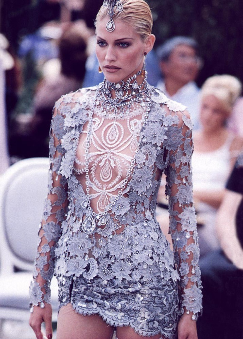 seaborder:  John Galliano for Christian Dior Fall Winter 1997 Haute Couture