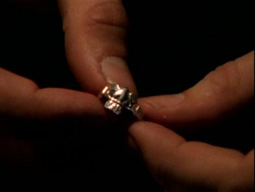 What Would Buffy Where?: The One Ring The most important part of Buffy's wardrobe for the next little while will be this guy. The Claddagh Ring that Angel gives her for her birthday, a token of his undying (HAH, GET IT? CAUSE HE'S D-) love for her and a traditional wedding band in Ireland.  I had my own Claddagh from the boy I thought I'd marry one day. Let's just say it ended about as well as Buffy and Angel did. I mean, I didn't run him through with a sword and send him to a hell dimension where he writhed in pain for what seemed like endless time (unfortunately.) but it was a very special moment in our relationship. They're really lovely rings and are a great and unique way of showing you belong to someone.