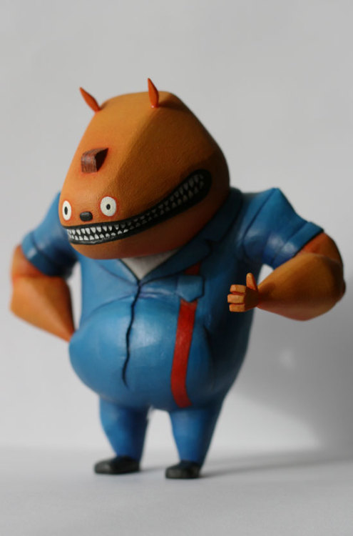 schismogenesis:  Glottis action figure by Iain Reekie.