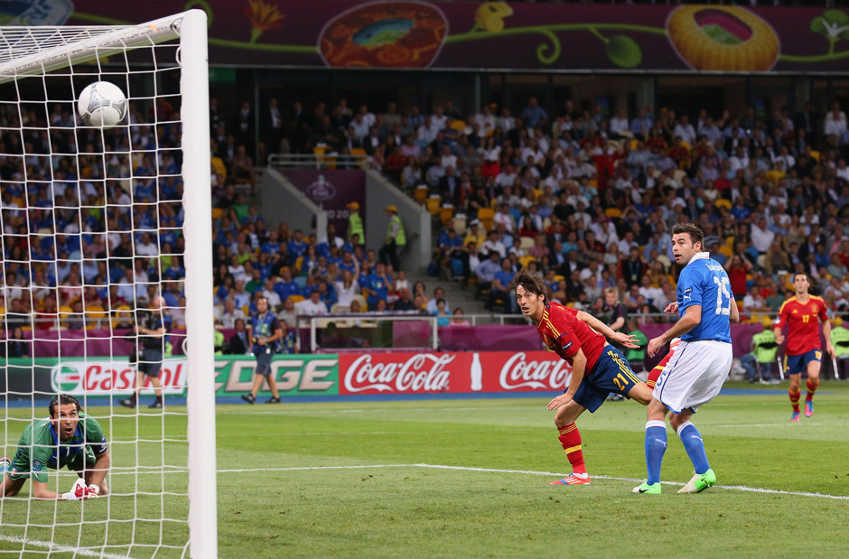 Photo gallery: The best photos of Spain vs. Italy at Euro 2012.
