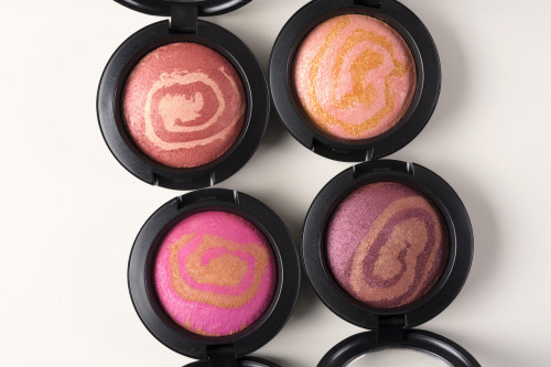temptalia:  MAC Heavenly Creatures - Mineralize Blushes