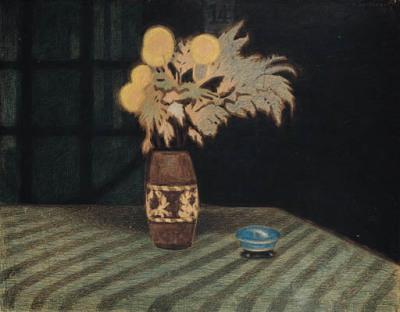 Léon Spilliaert (1881-1946) Artificial Flowers (Fleurs artificielles), N/D