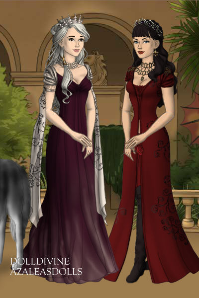 I found a Game of Thrones character maker…and this happened. Me & KateorDie Friendship wedding GOT style? I think yes.