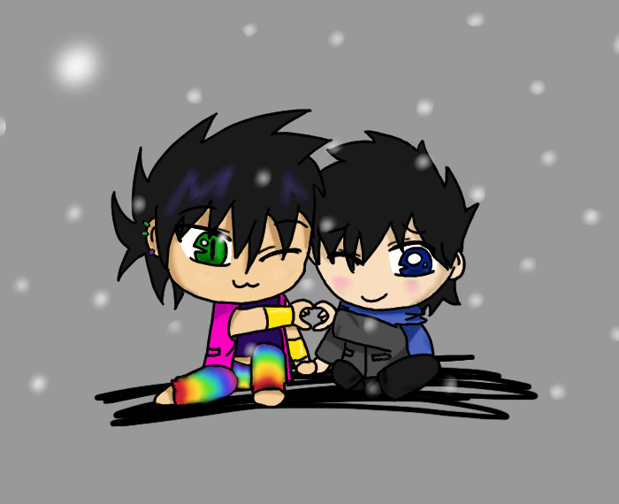 Magnus and Alec by ~Altil-and-Miluiel
