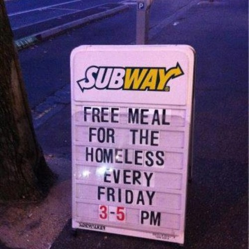 More restaurants need to do this! #respect  (Taken with Instagram)