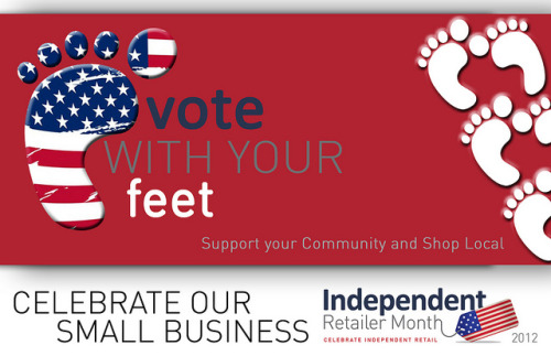 Happy Independent Retailer Month!!! Throughout the month of July celebrate being a small business for Independent Retailer Month —a global Shop Local initiative. The purpose of the campaign is to feature the vital role local merchants have within the community, economy, and the overall retail sector. Encourage your clients or customers to make a commitment to shop local throughout the month of July (and beyond). Inform them of the important impact that shopping local has on your local community and the economy. And reward your customers that participate! If your business is located in Atlanta, GA or the surrounding areas get featured on the Atlanta Small Business Examiner (Examiner.com) ONLY IF you will be participating in Independent Retailer Month. Simply leave a comment on the original announcement (here) sharing the name of your business and the activities that you have planned. If you are not located in Atlanta, GA but have business friends that are please pass this information on to them. DEADLINE: 7/15/12 @ 11:59 pm EST. Will you be participating in Independent Retailer Month? What activities do you have planned? Share your small biz diamonds in the comments section below. Image Credit