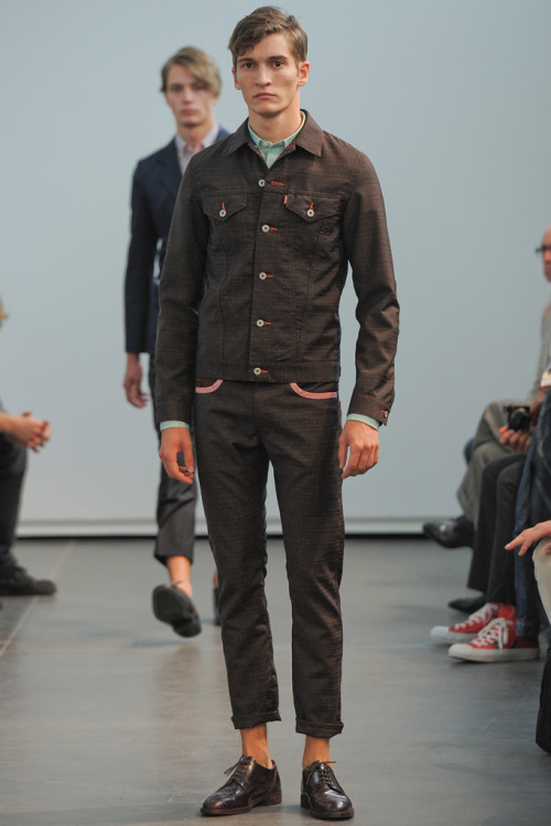 yourmothershouldknow:  Junya Watanabe Spring/Summer 2013  Paris Fashion Week