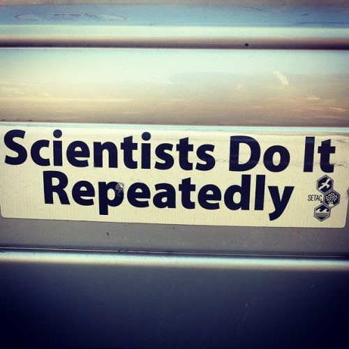 nevver:  Scientists  Sometimes i wish i were a scientist. But there's that whole discovering radium in your purse thing. That part would be bad.