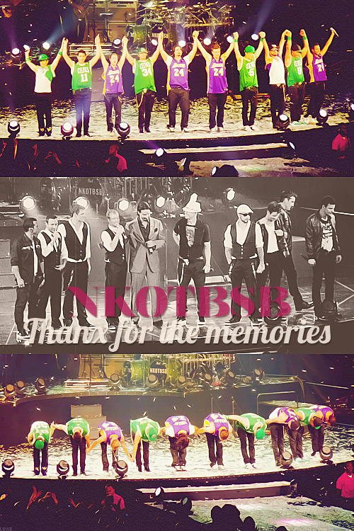 9 [10] Brothers & a Million Sisters - NKOTBSB - Thanx for the Memories ♥