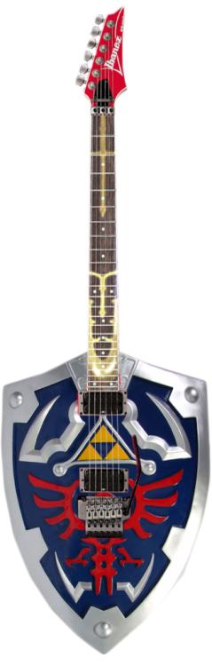 christiannitro:  Zelda Guitar *o*