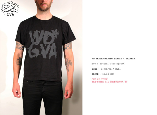 ORDERS VIA SHOP@WDGVA.CH
