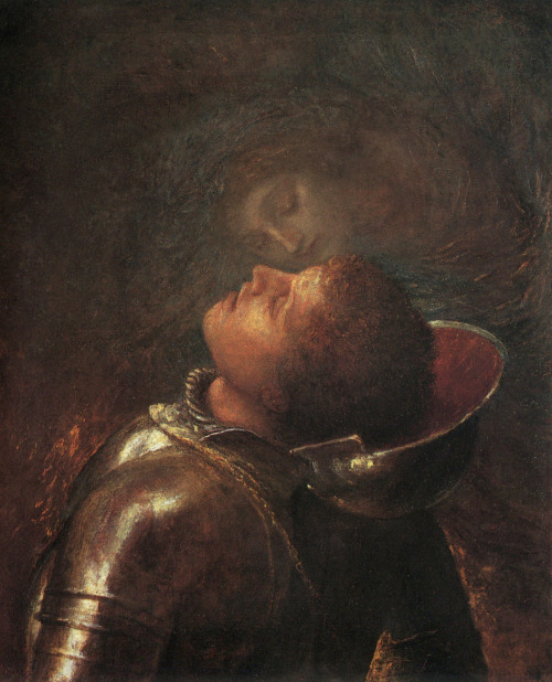 ponderful:  George Frederic Watts (1817-1904), The Happy Warrior