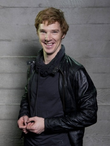 Benedict touching his fingers.