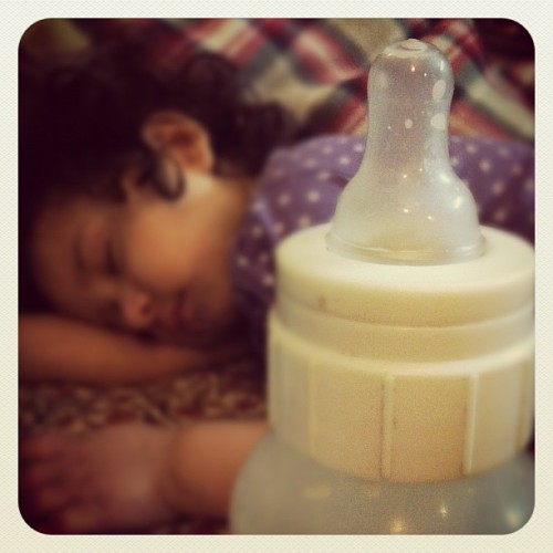 Goodnight, Munchkin :) #sleeping (Taken with Instagram)