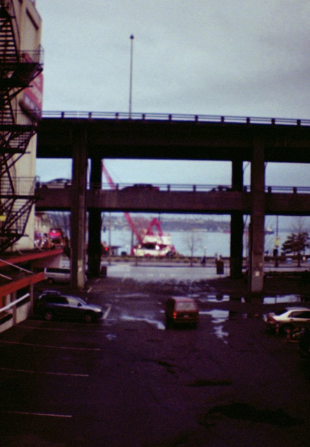 untitled on Flickr. Taken in Seattle in January 2011 with a Diana Mini.