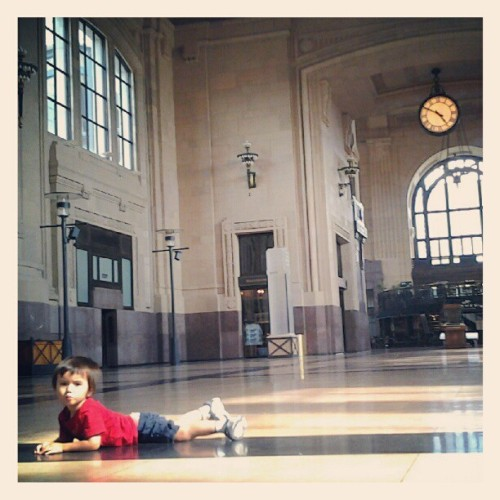 Oliver is having feelings (Taken with Instagram at Union Station)