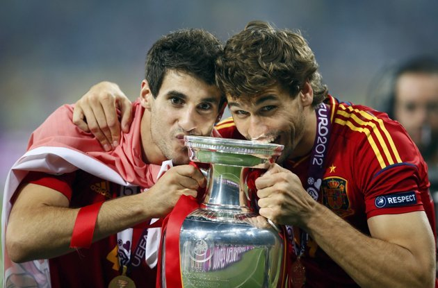 Fernando Llorente and Javi Martinez