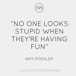 Amy Poehler - both witty and wise. (via)