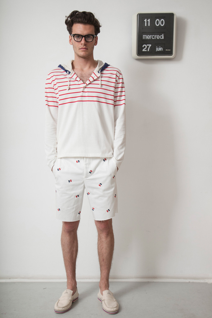 yourmothershouldknow:  Band of Outsiders Primavera/Verano 2013 Semana de la Moda de París ….. Band of Outsiders Spring/Summer 2013 Paris Fashion Week