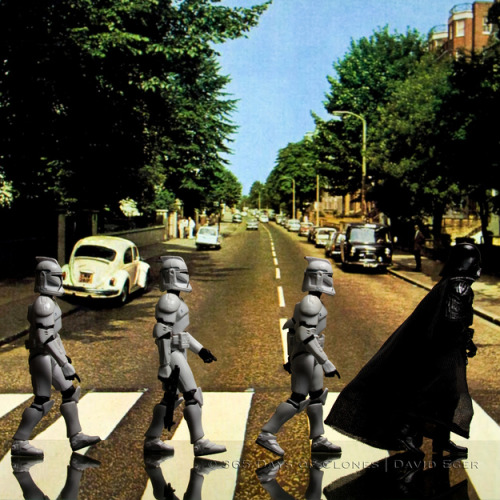 jaymug:  Star Wars Abbey Road