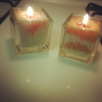 Candles mea and I made from my candle maker #creative #home #candles #diy #work #light  (Taken with Instagram)