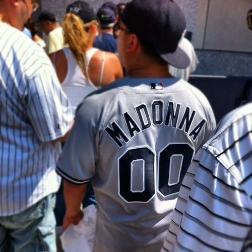 #WTF #Yankees fan? #madonna ?  (Taken with Instagram)