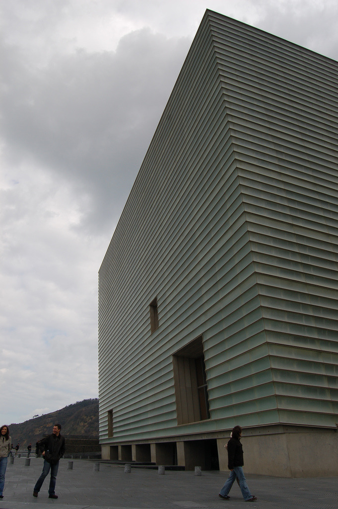 rafael moneo, kursaal center, san sebastian