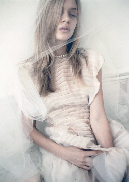 deprincessed:  Josephine Skriver in 'That Was my Veil' by Yelena Yemchuk for Lula S/S 2012 (#14)