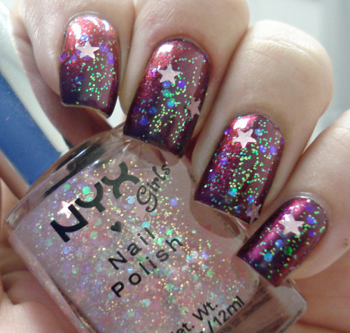 Unconventional - Hits + Dreamy Glitter - NYX on Flickr.