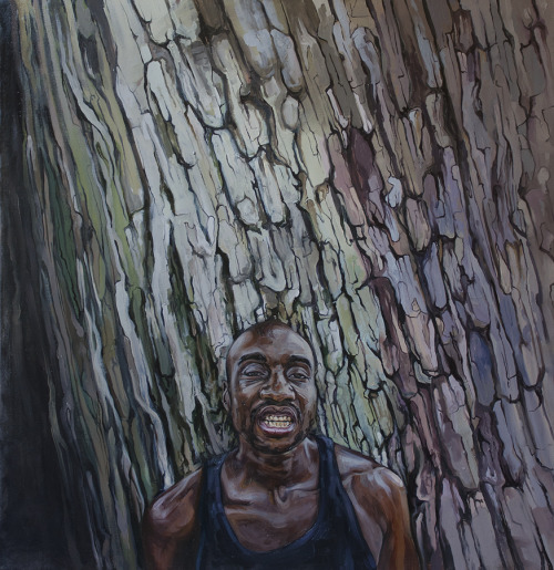 fletcher3latest:  Strange Fruit - Oil on Canvas 42 x 44 in