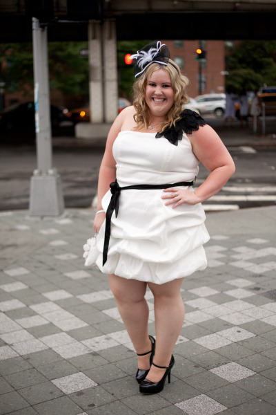 waituntilthesunset:  My outfit for the Full Figured Fashion Week White Cruise Dress and Heels: Torrid #plussize #fatshion #ootd  #fffweek #sonsifffweek