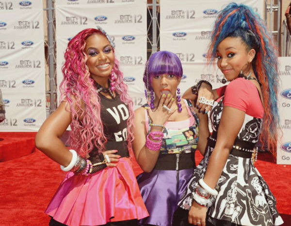 fuckyeahfamousblackgirls:  OMG Girlz at the 2012 BET Awards