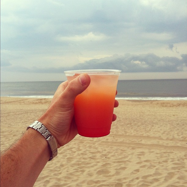 jamesfromlola:  Life's a beach. 🌅 (Taken with Instagram at Gurney's Inn Resort & Spa)
