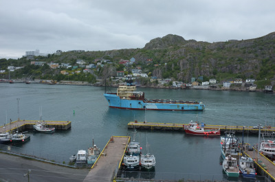 "Kirk Squires photo. ""Where two worlds meet."" St. John's, NL. 2012"