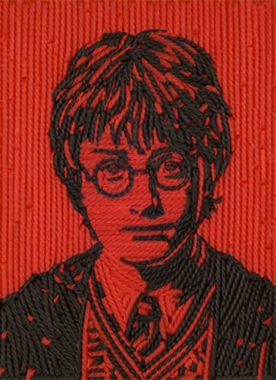 musicalhogwarts:  bright-and-always-bold:  Harry Potter [Daniel Radcliffe] Made from redvines