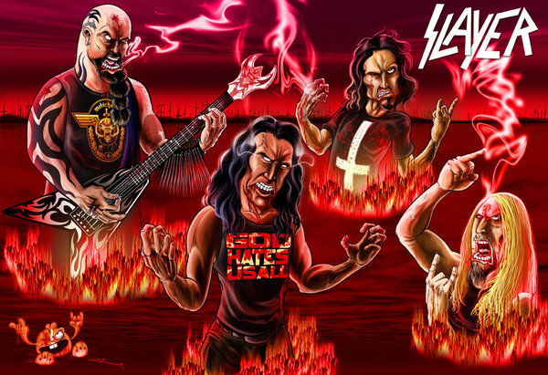 Haha Slayer south of heaven