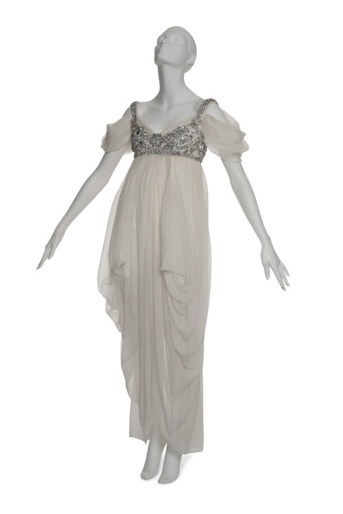 FASHION /// @LADYGAGA purchased this @WORLDMCQUEEN for $25,366 at Christie's auction to benefit @TheRealDaphne Isabella Blow Foundation
