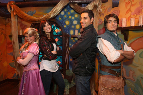 Tangled, Mandy & Zach ♥