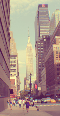 The Empire State Building My adventures to New York (: