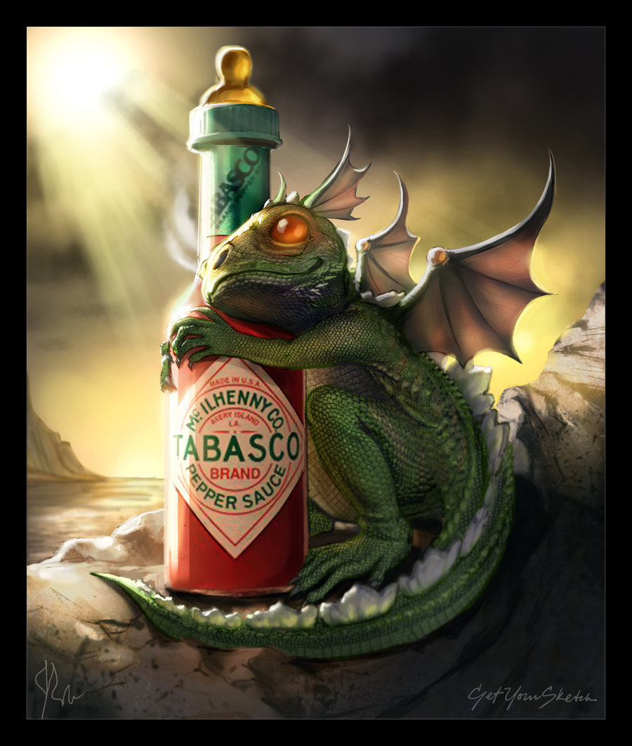 cptnsuz-sae:  Baby Dragon - Tabasco by ~jwohland