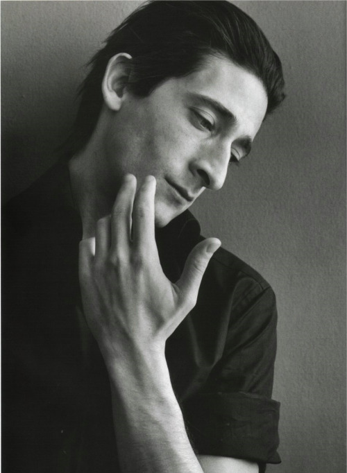 Adrien Brody Photographed by Richard Phibbs