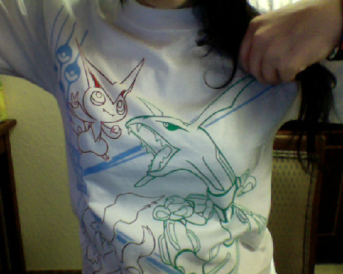 Pokemon Nationals 2012 Shirt :] Featuring Victini, Rayquaza, and Darkrai :3