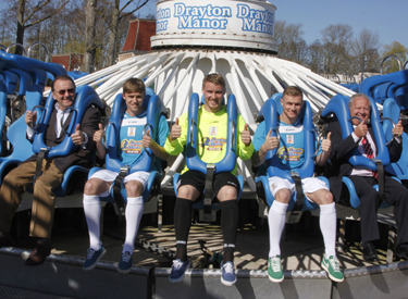 Tamworth give the thumbs up to the most literal of kit launches