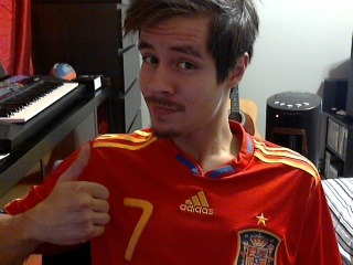 I wish I could play for Espana. I totally look like I could.