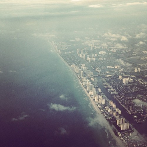 Welcome to #Miami!  (Taken with Instagram)
