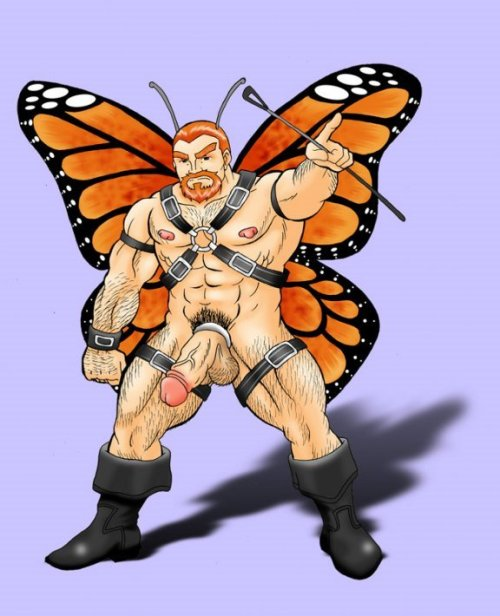 Bara butterfly!!! Here to grant wishes and fuck you in the arse.
