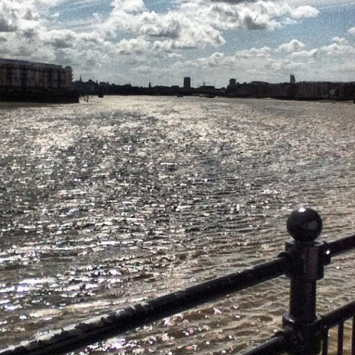 #River #thames #london  #unitedkingdom  #docklands went for a party and ended up seeing this ! (Taken with Instagram)